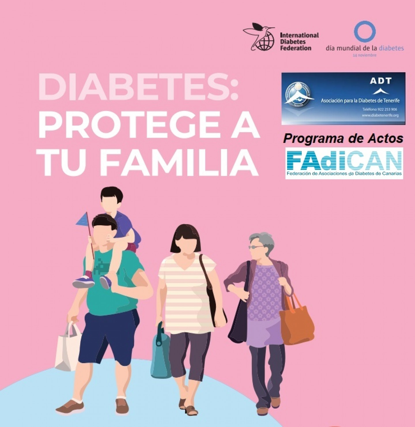 folleto de cambio de vida con diabetes